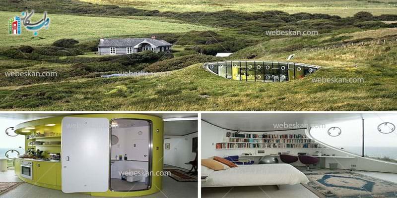 عجیب ترین خانه های جهان 2